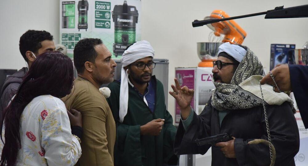 الفنان المصري محمد ثروت في برنامج المقالب ماحدش فاهم حاجة