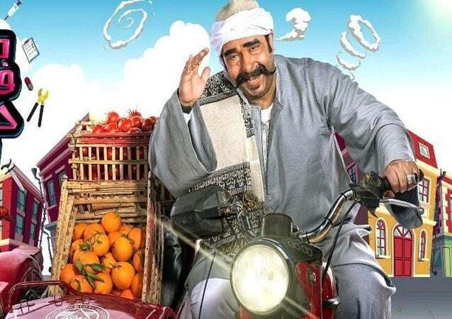 الفنان المصري محمد ثروت على ملصق برنامج المقالب ماحدش فاهم حاجة