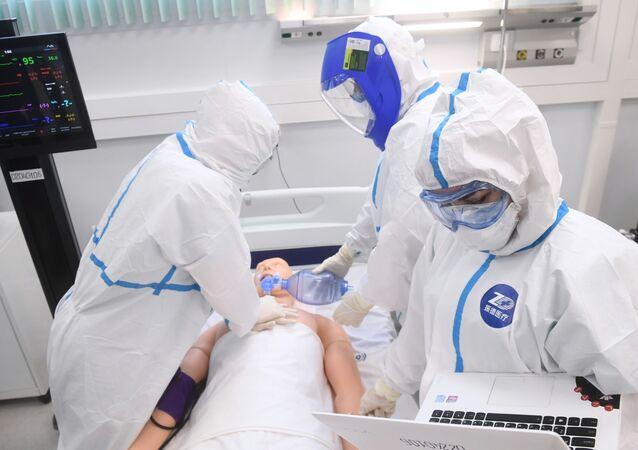 افتتاح المركز الطبي للأمراض المعدية في نوفايا موسكفا (موسكو الجديدة)، لمعالجة مرضى كورونا في ضواحي موسكو