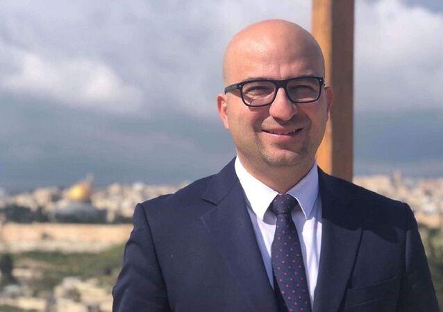 فادي الهدمي وزير شؤون القدس في الحكومة الفلسطينية