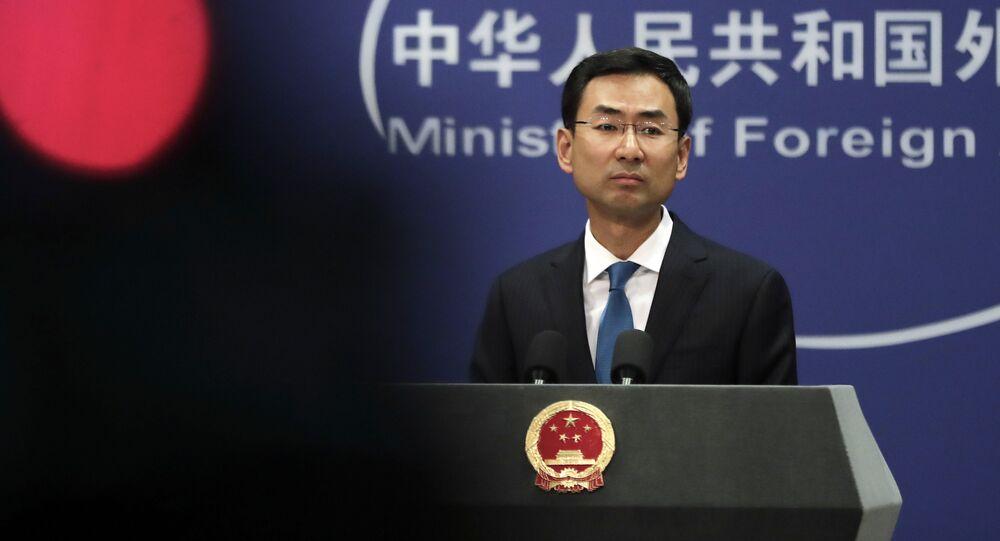 المتحدث باسم الخارجية الصينية غين شوان