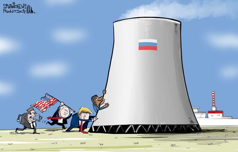 أمريكا تريد الهيمنة على سوق التكنولوجيا النووية