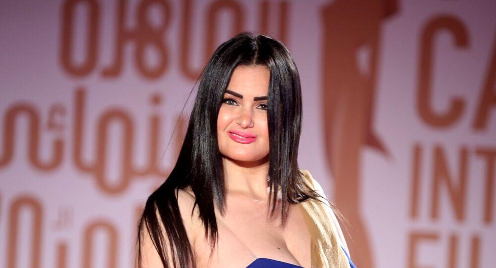 الفنانة المصرية سما المصري