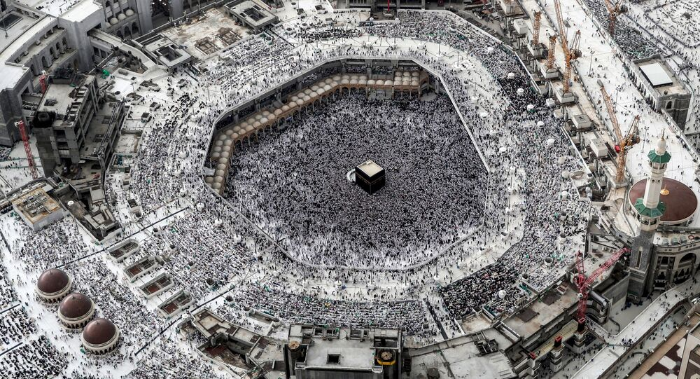 مسجد الحرم الشريف في مكة في اليوم الأول من شهر رمضان، السعودية، 31 مايو 2019.