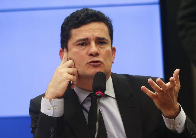 وزير العدل والأمن العام البرازيلي سيرجيو مورو