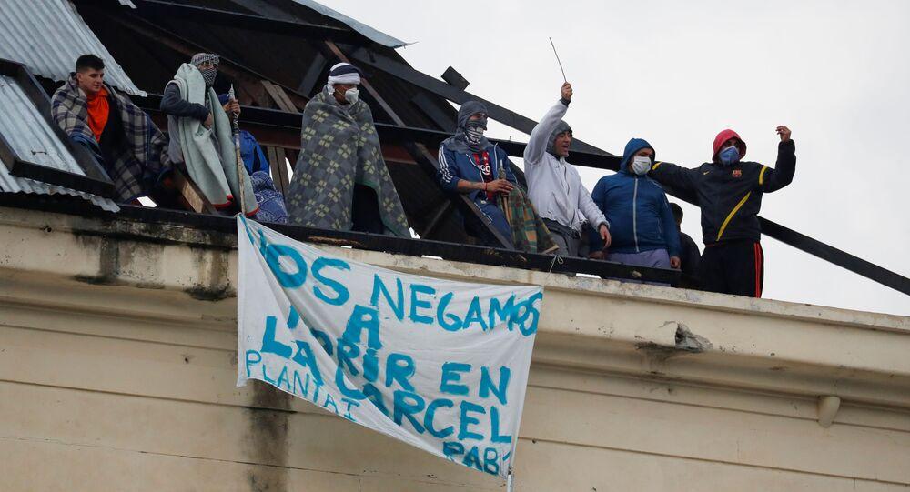 تظاهرات في سجن أرجنتيني بسبب انتشار كورونا داخله