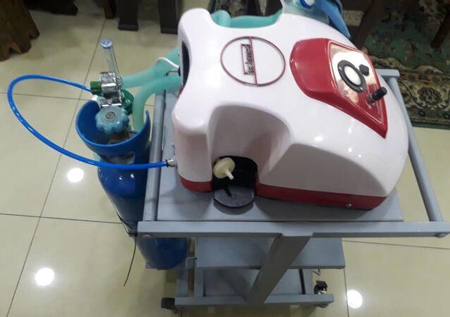 رئيس الحرفيين السوريين: خط لإنتاج 300 جهاز تنفس صناعي شهرياً بمواصفات عالمية