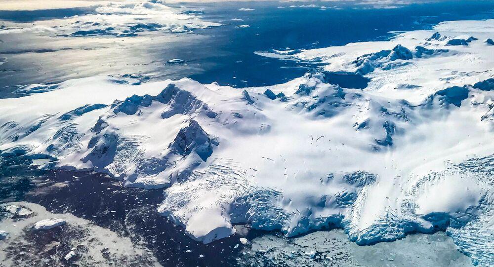 جبل الجليد A68، القارة القطبية الجنوبية، عام 2017