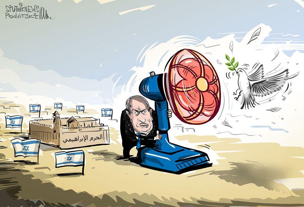 إسرائيل تضم أراضي الحرم الإبراهيمي