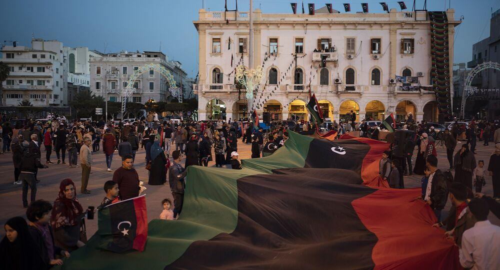طرابلس، ليبيا 25 فبراير 2020