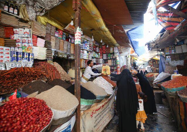 رمضان في صنعاء، اليمن أبريل 2020