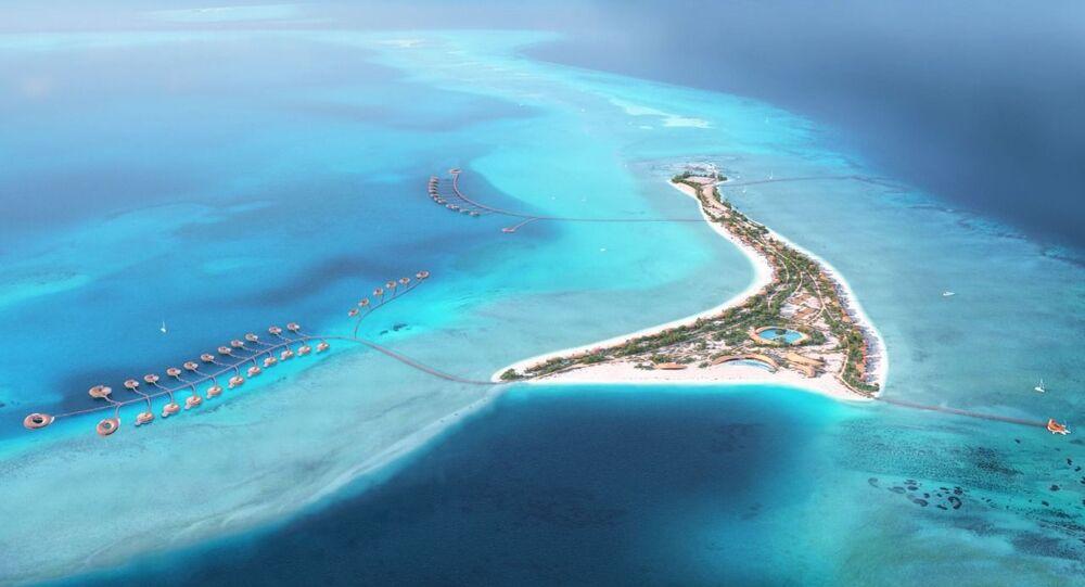 اعتماد مواقع فنادق 4 جزر وأصولها في مشروع البحر الأحمر