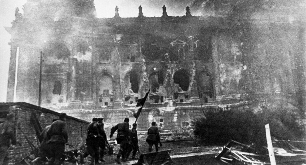 صور من أرشيف الحرب الوطنية العظمى (1941 - 1945) - الهجوم على الرايخستاغ برلين، مايو/ أيار 1945