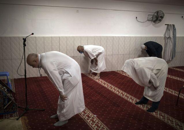 صلاة الجمعة في أحد المساجد جنوبي فرنسا في رمضان 2020
