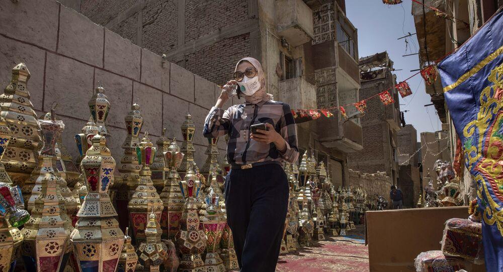السيدة زينب بالعاصمة المصرية القاهرة في رمضان
