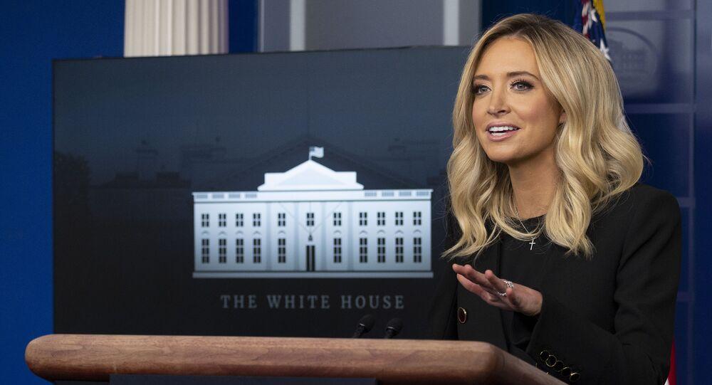 المتحدث الرسمي باسم البيت الأبيض، كايلي ماكيناني