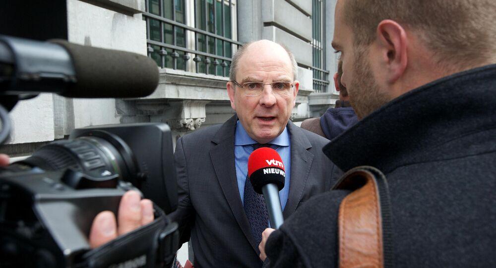وزير العدل البلجيكي كوين جينس