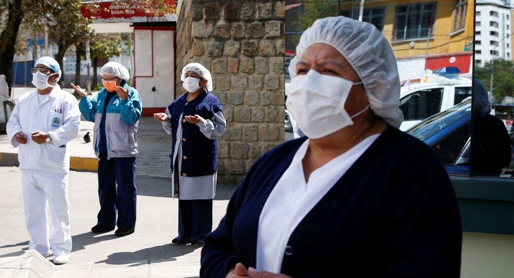 تفشي فيروس كورونا في بوليفيا