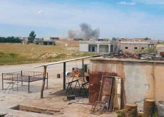 الميلشيات التركمانية تستهدف بالمدفعية موقعا للجيش السوري بريف الحسكة