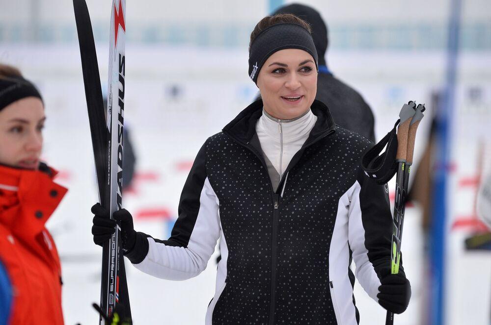 نتاليا إيسمونت، المتحدثة الرسمية باسم الرئاسة البيلاروسية، بيلاروسيا 9 فبراير 2019