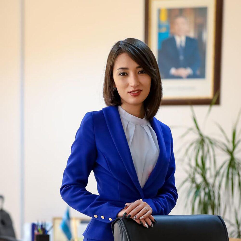 زارينا نورلانوفا، المديرة السابقة للمكتب الصحفي لرئيس وزراء جمهورية كازاخستان