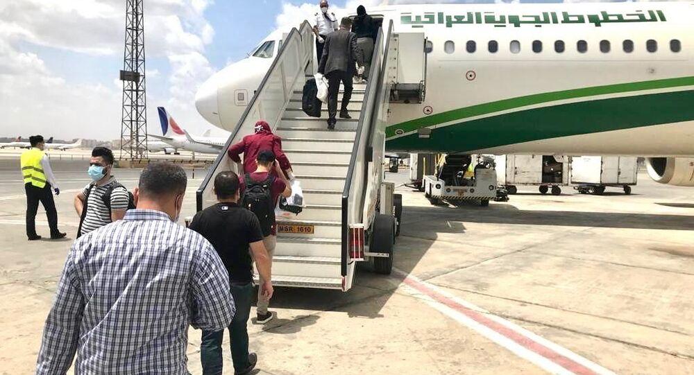 رحلة القاهرة - الموصل، الخطوط الجوية العراقية