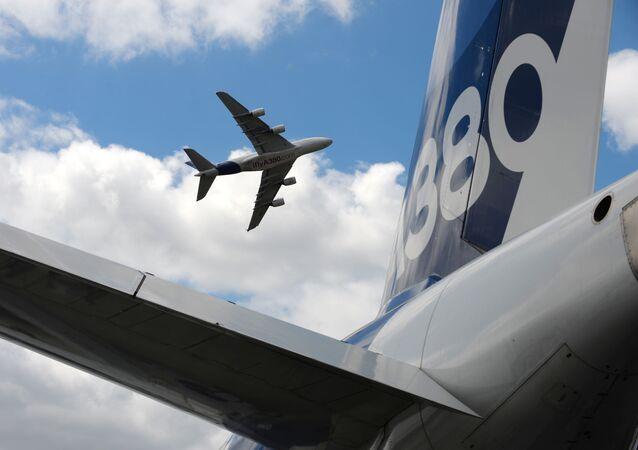أكبر طائرة ركاب بالعالم إيرباص A380