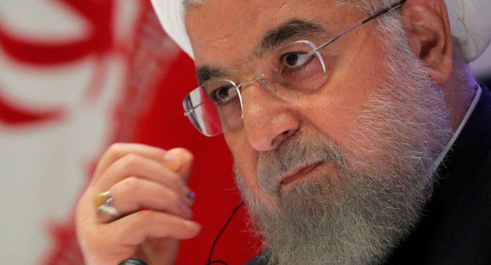 الرئيس الإيراني حسن روحاني، 26  سبتمبر 2019