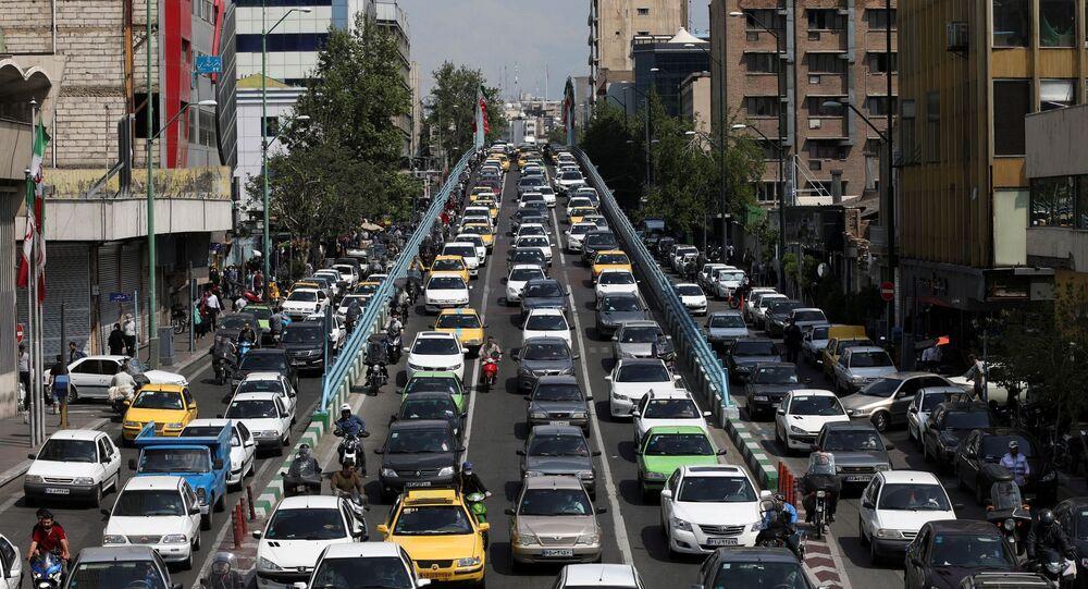 طهران، إيران 26 أبريل 2020