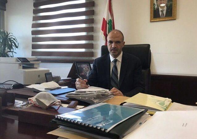 وزير الصحة العامة اللبناني حمد حسن