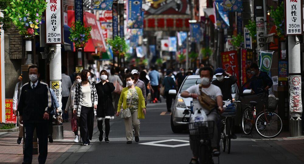 اليابان في فترة الحجر الصحي