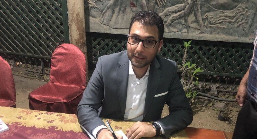 الكاتب والروائي اللبناني محمد طرزي