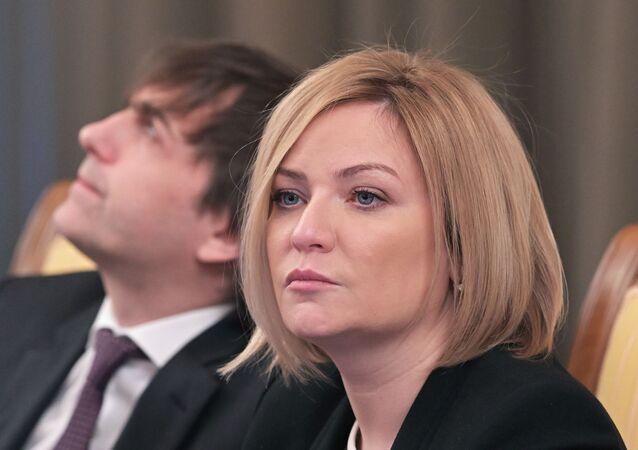 وزيرة الثقافة الروسية أولغا ليوبيموفا