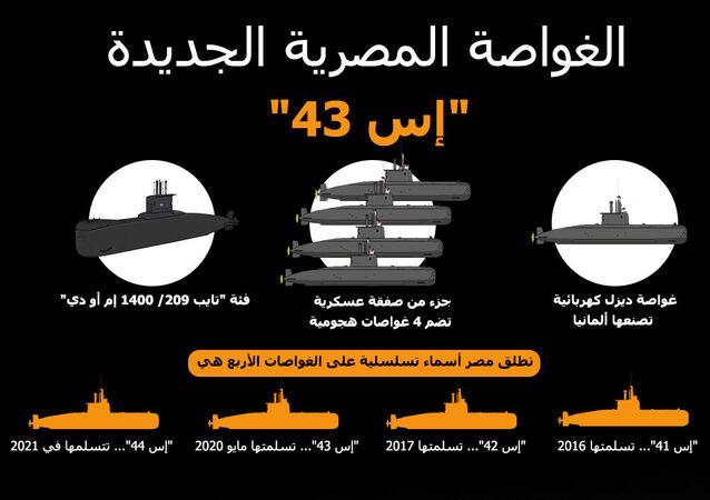الغواصة المصرية الجديدة