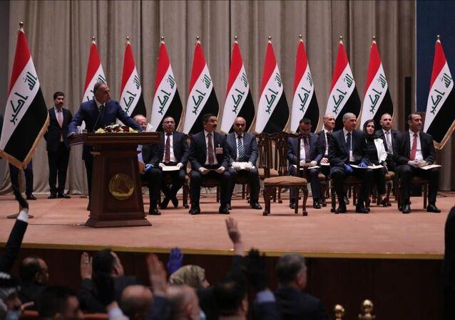 الحكومة العراقية الجديدة برئاسة مصطفى الكاظمي