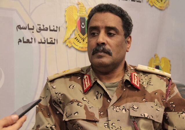 مقابلة سبوتنيك مع اللواء أحمد المسماري الناطق باسم القائد العام للجيش الوطني الليبي
