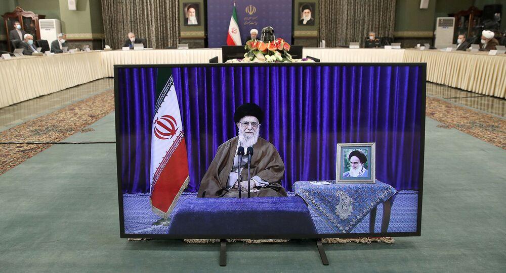 الرئيس الإيراني حسن روحاني، طهران، إيران 10 مايو 2020