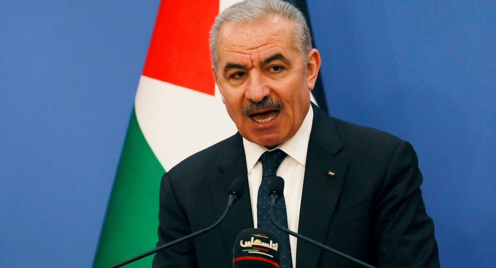 رئيس الوزراء، الحكومة الفلسطينية، محمد إشتية، فلسطين 11 مايو 2020