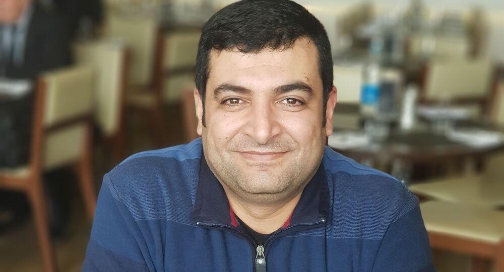 مؤتمر كولموغوروف للبحث العلمي - مدير المركز الوطني للمتميزين في سوريا الدكتور مثنى القبيلي