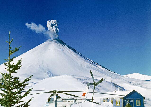 بركان كلوتشيفسكايا في روسيا