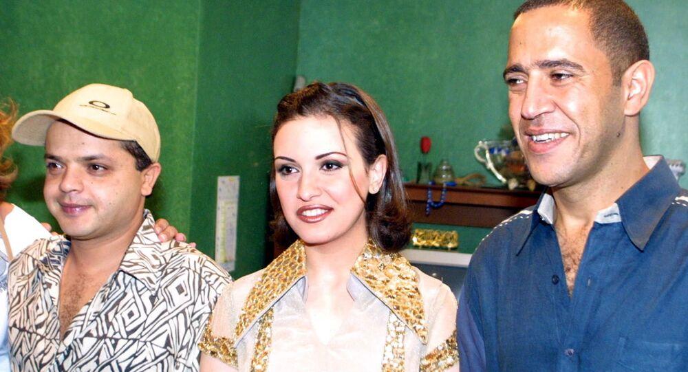 الفنانين المصريين أشرف عبد الباقي وريهام عبد الغفور ومحمد هنيدي
