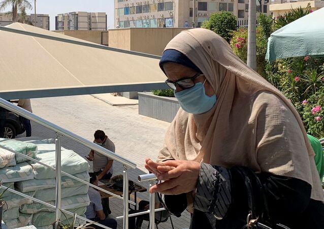 انتشار فيروس كورونا في مصر