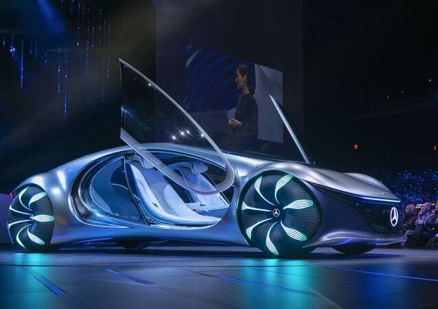 سيارة أفاتار الجديدة من مرسيدس بينز