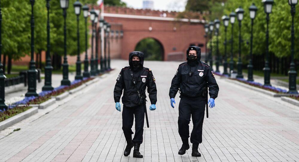 تخفيف قيود الحجر الصحي المفروضة بسبب جائحة كورونا في موسكو، روسيا مايو 2020