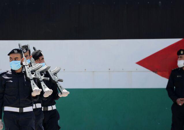 الشرطة الفلسطينية في قطاع غزة، مايو 2020