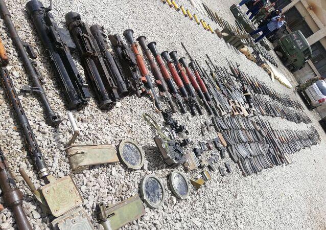 الأمن السوري يضبط أسلحة وذخائر بريف درعا