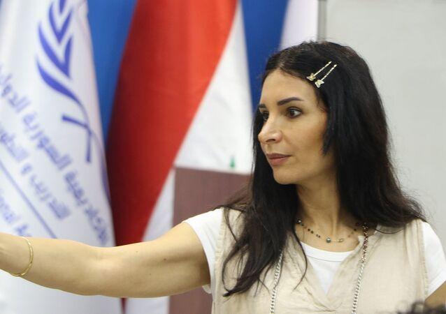 المخرجة السورية رشا شربتجي