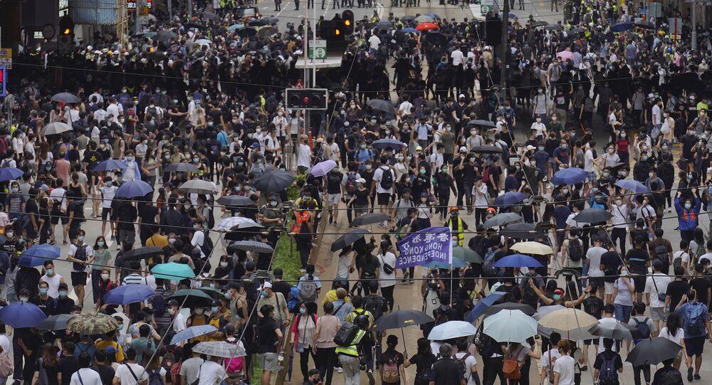 الاحتجاجات في هونغ كونغ ضد قانون بكين