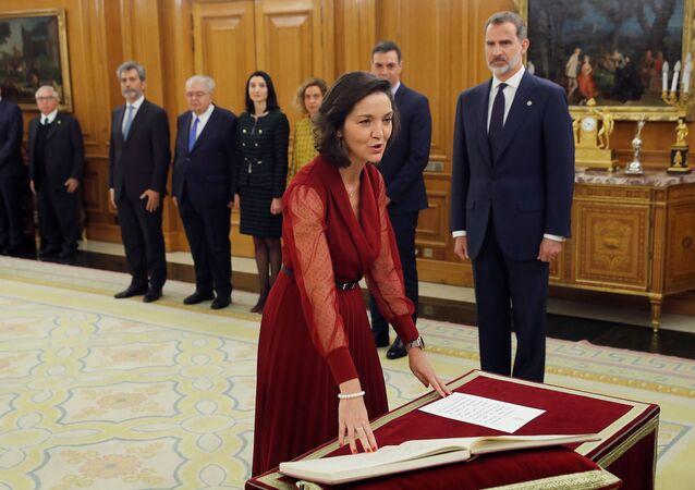 وزيرة السياحة الإسبانية رييس ماروتو