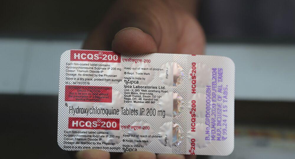 عقار هيدروكسي كلوروكوين المستخدم في علاج مرض الملاريا